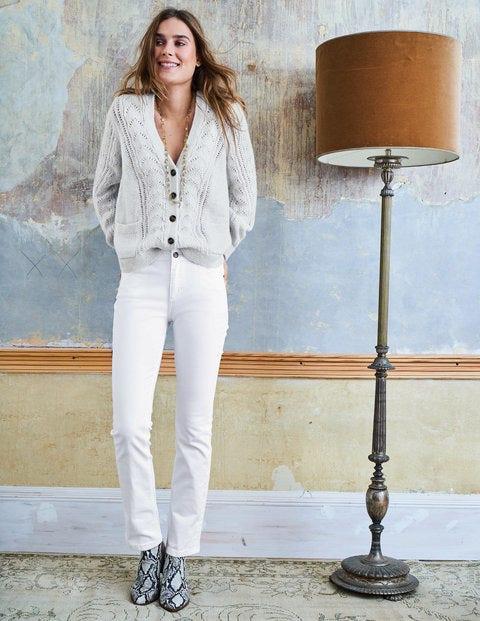 Trafalgar Straight Leg Jeans - White