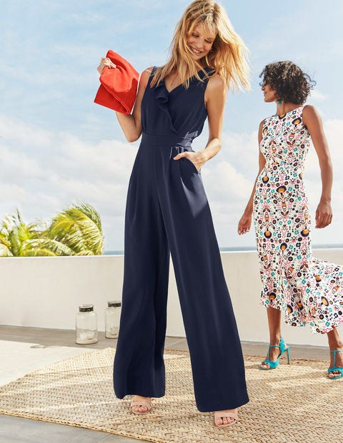 Dolly Jumpsuit - Navy
