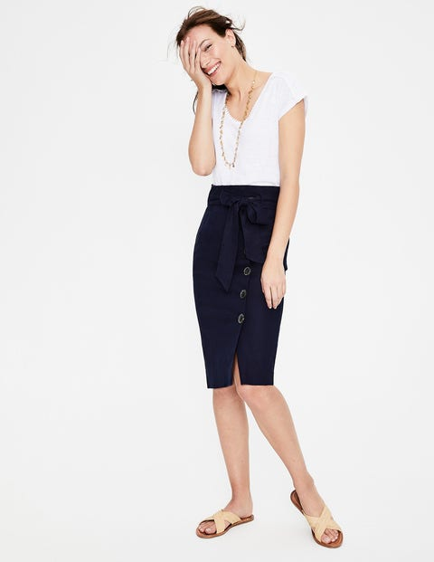 Leonora Skirt - Navy