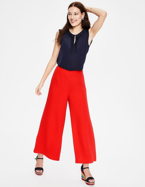 Erin Culottes - Red Pop