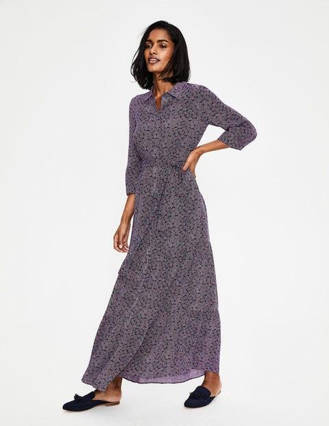 30d4e42dad4fc6 Viola Maxi-Hemdblusenkleid W0320 Kleider für besondere Anlässe ...