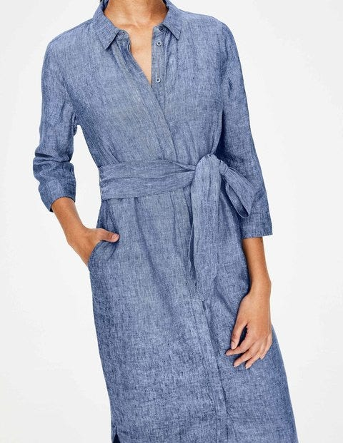 picked up big discount sale attractive price Freya Linen Shirt Dress W0335 Day Dresses at Boden