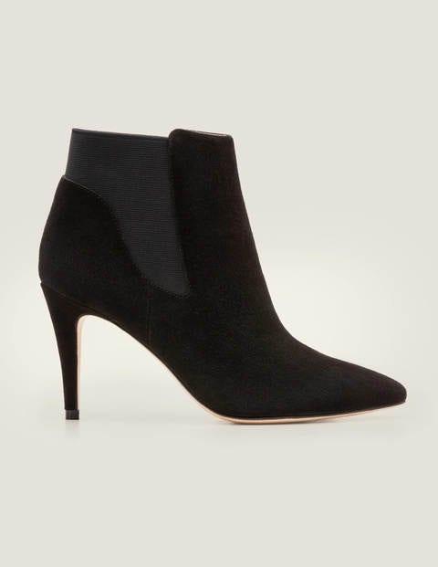 Boden High Heel Stiefelette black