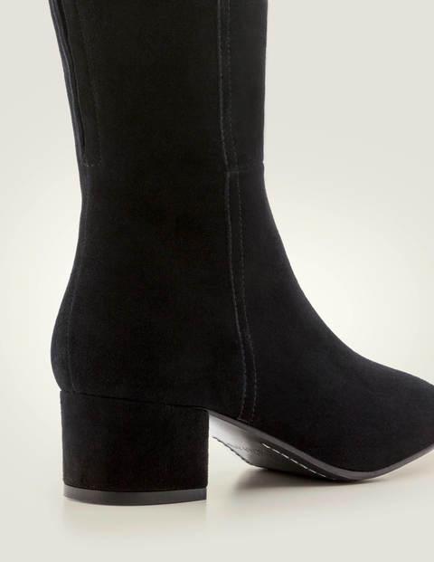 Kennford Knee High Boots - Black | Boden US
