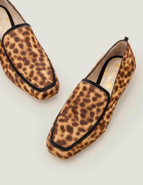 Rae Loafers - Tan Leopard