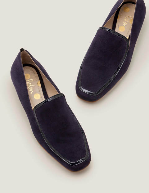 Rae Loafers - Navy