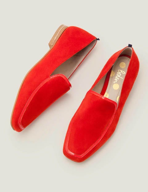 Rae Loafers - Post Box Red