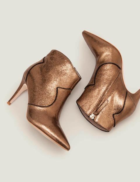 Elystan Ankle Boots - Bronze Metallic