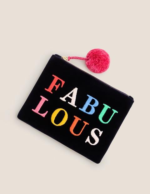 Small Velvet Pouch - Fabulous