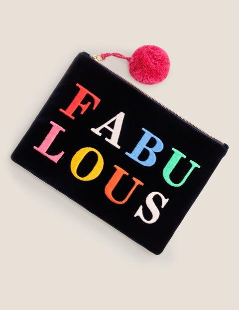 Velvet Pouch - Fabulous