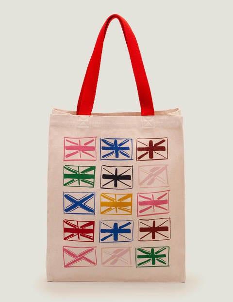 Printed Tote Bag - Multi Union Jack