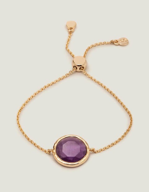 Semi-Precious Bracelet - Amethyst