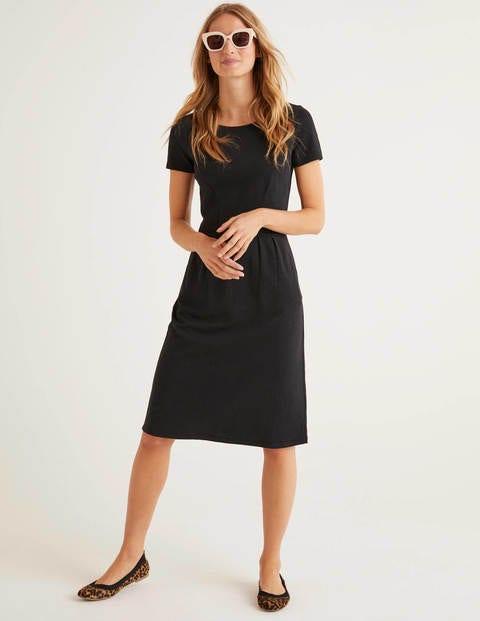 Phoebe Jersey Dress - Black