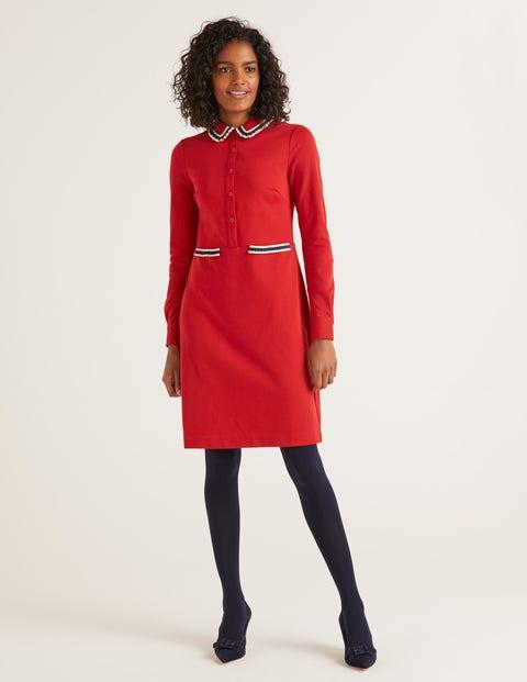 boden - Amber Ponte-Kleid Red Damen , Red