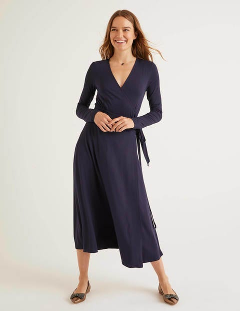 Laurie Jersey Dress - Navy
