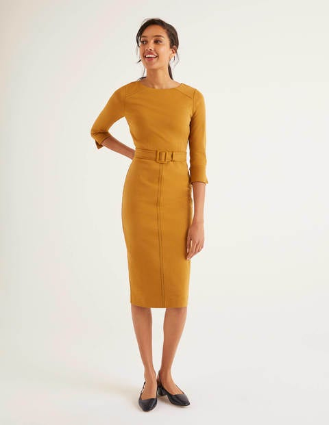 Rosalie Ponte Dress - Trumpet