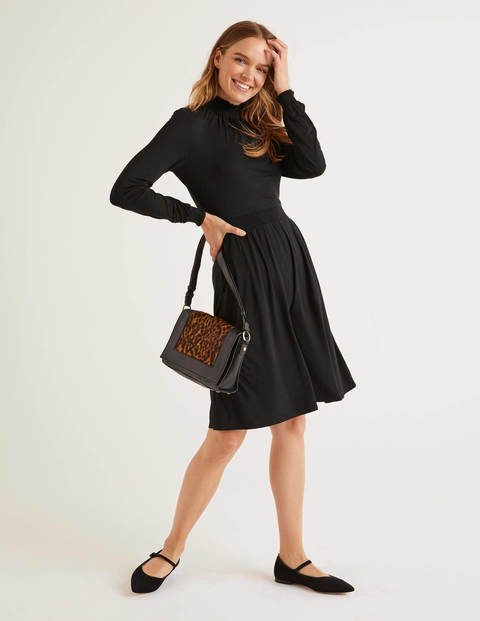 Alice Jersey Dress - Black