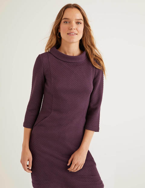 Andrea Jacquard Tunic - Fig