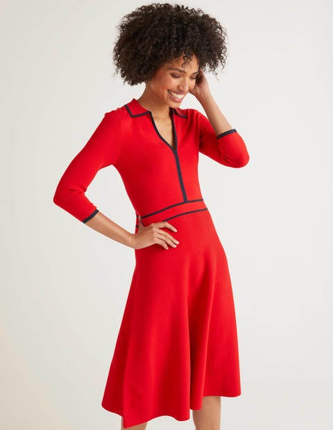 Posie Dress - Post Box Red