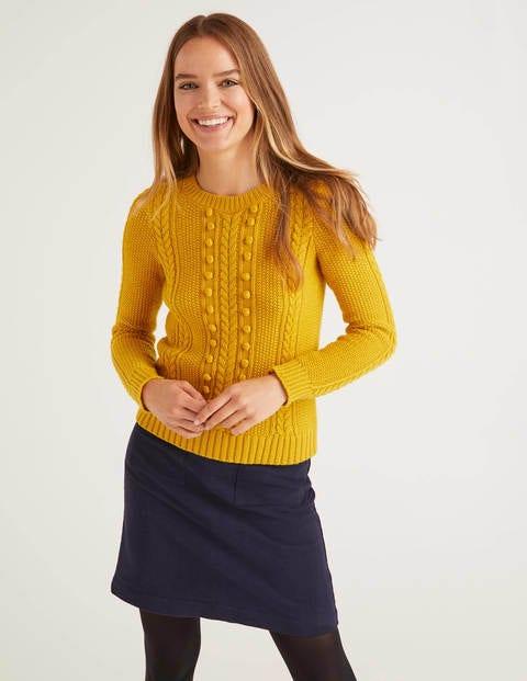 Elodie Pullover Yellow Damen Boden, Yellow