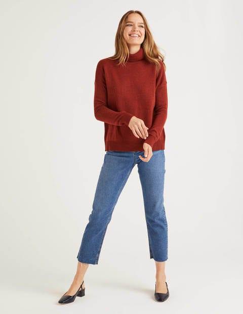 Cora Sweater - Conker Melange