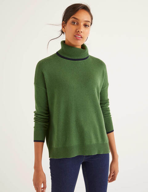 Cora Pullover - Ackerbohnengrün