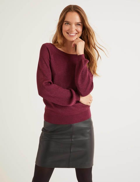 Mabel Sweater - Ruby Ring Sparkle