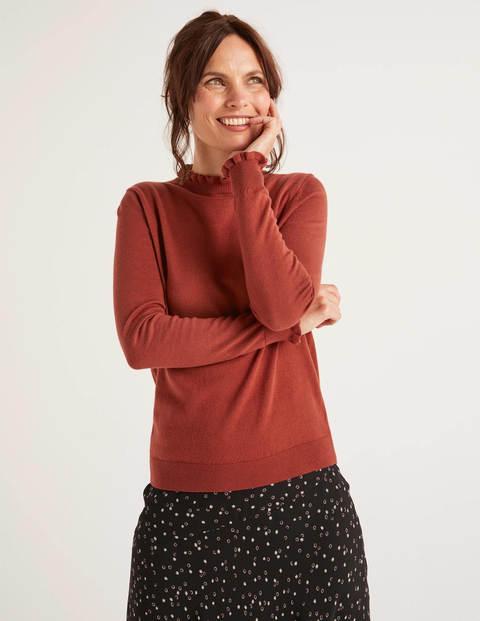 Lara Sweater - Conker
