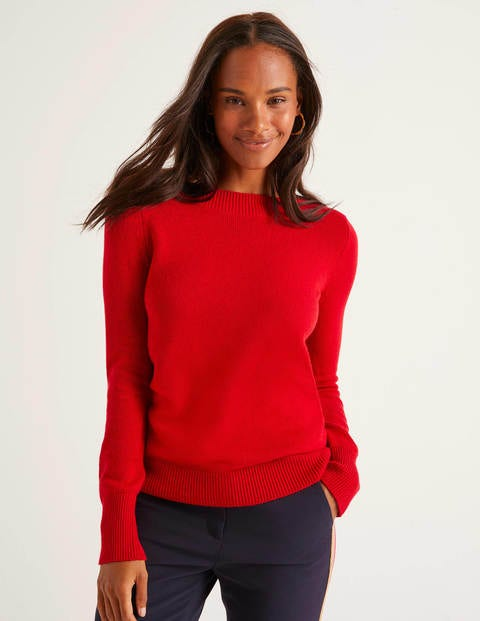 Peggy Pullover Red Damen Boden, Red