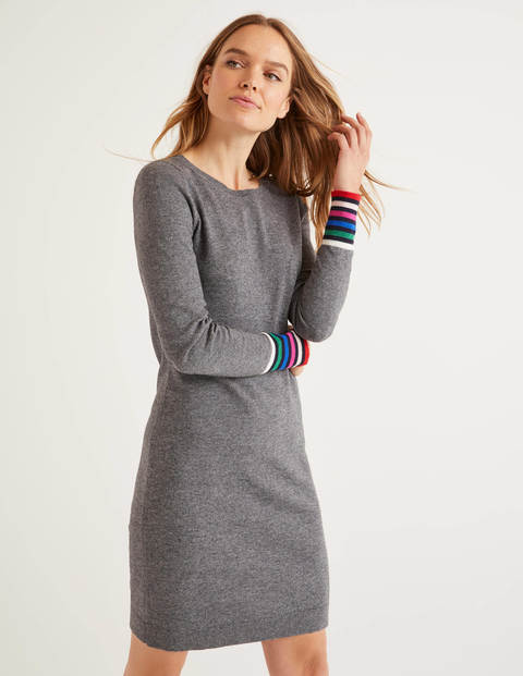 Robe Federica - Anthracite chiné