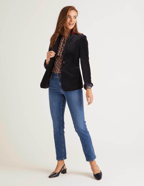 Sackville-West Velvet Blazer