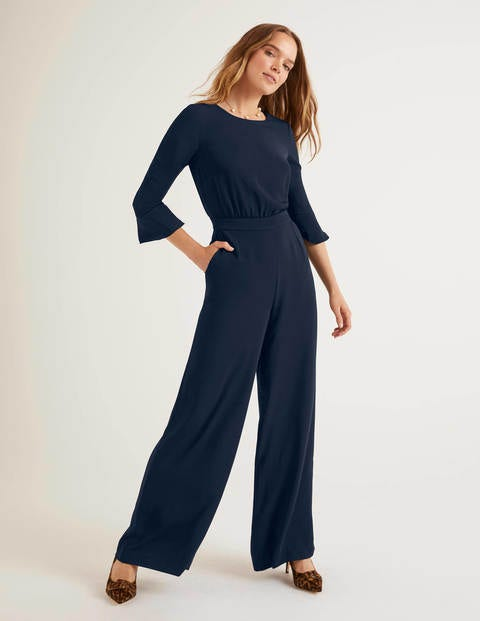 Agnes Jumpsuit - Navy