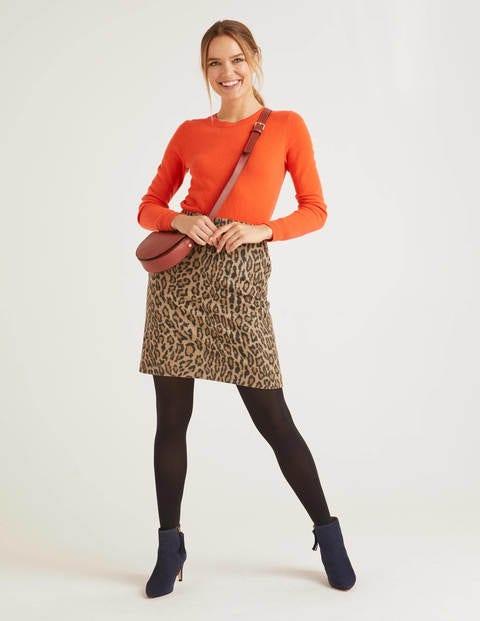 Betsy Mini Skirt - Leopard