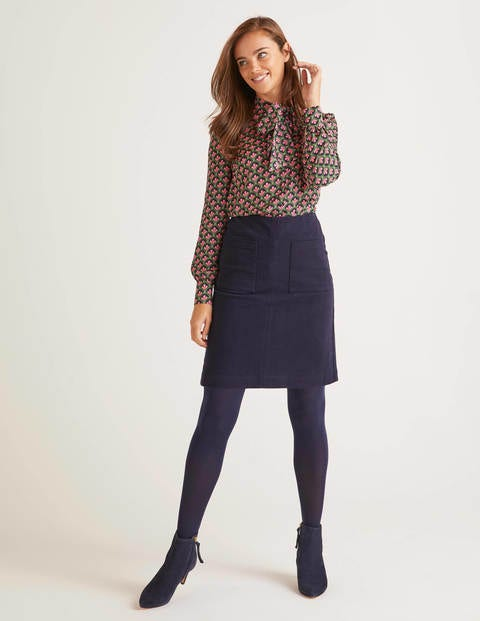 Bay Mini Skirt - Navy