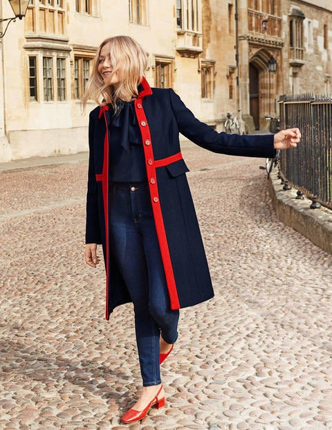 Mitford Coat - Navy