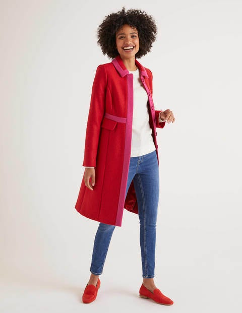 Mitford Coat - Post Box Red