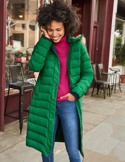 Cavell Puffer Coat - Highland Green