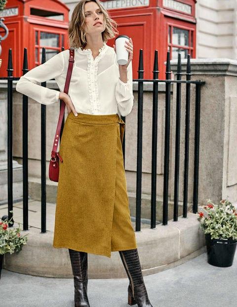 Constance Wrap Skirt - Trumpet