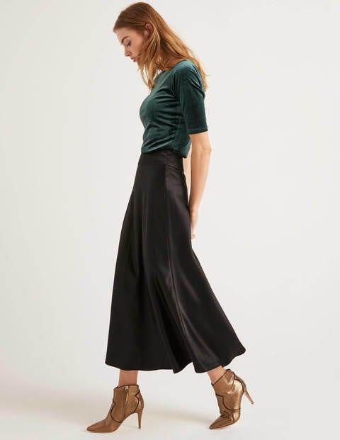 Tessa Midi Skirt - Black