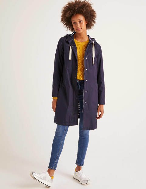 Shelley Waterproof Rain Coat - Navy