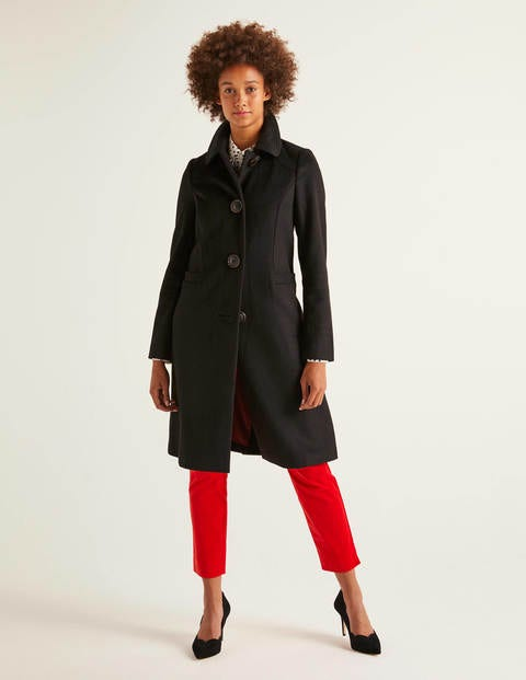 Wilbraham Coat - Black