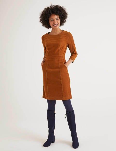 Coraline Dress - Pumpkin
