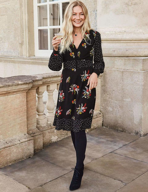 Ivy Dress - Black Country Posy
