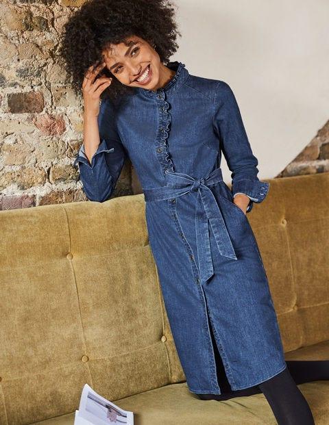 Evelyn Shirt Dress - Mid Vintage