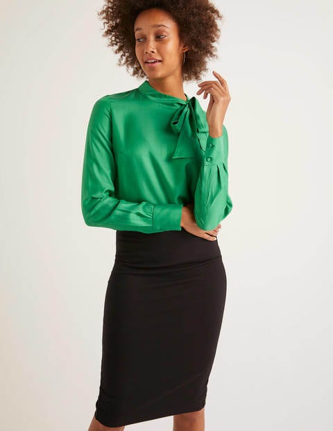 Aria Blouse - Highland Green