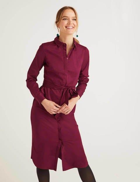 Freya Kleid mit langen Ärmeln Purple Damen Boden, Purple
