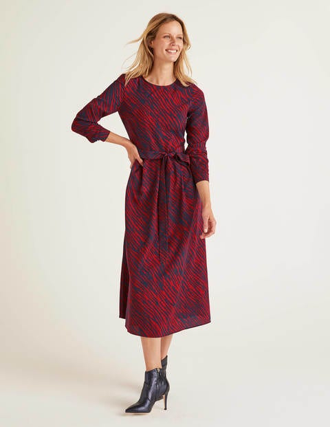 Lydia Dress - Poinsettia, Safari