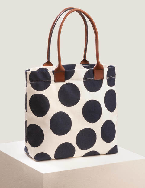 Holywell Tote Bag - Natural/Spot