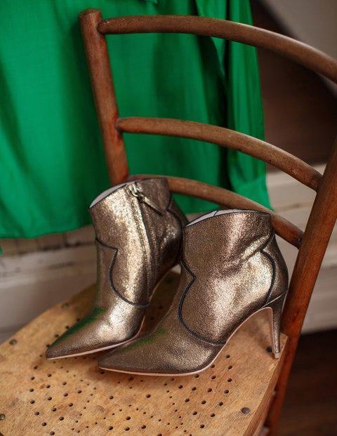 Bottines Elystan - Bronze métallisé