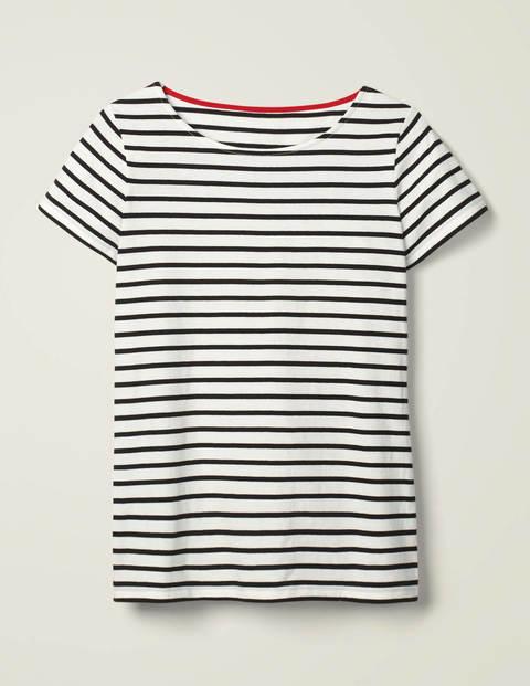 Kurzärmliges Bretonshirt